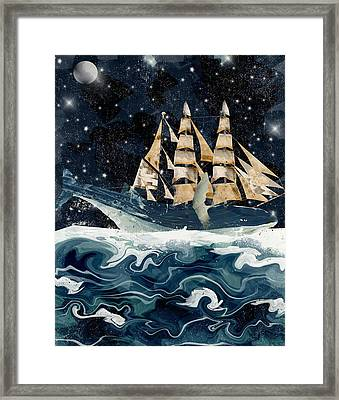 Setting Sails Framed Print by Bri B