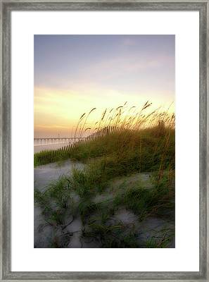 Setting Sun 1 Framed Print by Alan Hausenflock