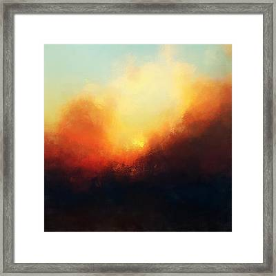 Setting Sun Framed Print by Lonnie Christopher