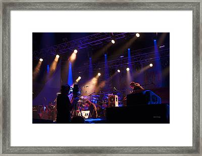 Setting Up For Dso Framed Print