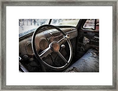 Settled Framed Print by Thomas Zimmerman