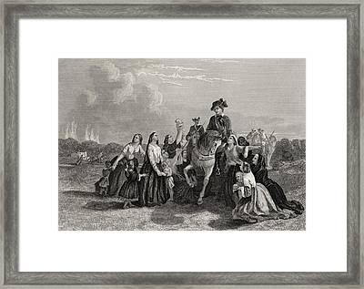 Settlers Imploring Washington S Framed Print