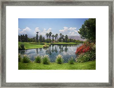 Settling In Framed Print by Laurie Search