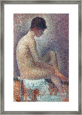 Seurat: Model, 1887 Framed Print by Granger