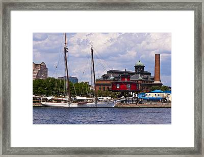 Seven Foot Knoll Lighthouse - Baltimore Framed Print