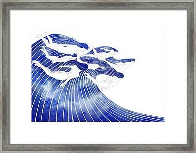 Seven Nereids Framed Print