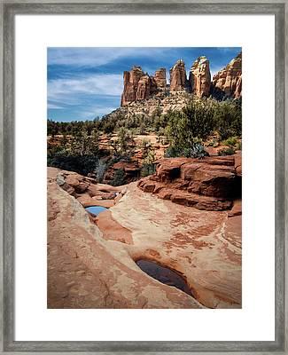 Seven Sacred Pools Framed Print