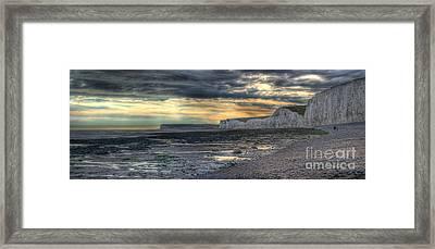 Seven Sisters - Panorama Framed Print by Ann Garrett