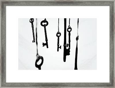 Seven Skeletons Framed Print