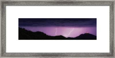 Seven Springs Alien Nation Framed Print by James BO  Insogna