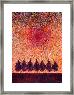 Seven Wishes Framed Print by Wojtek Kowalski