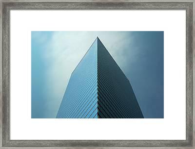 Seven World Trade Framed Print by Mandy Wiltse
