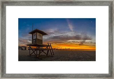 Framed Print featuring the photograph Seventeen You're Clear For Takeoff by Sean Foster