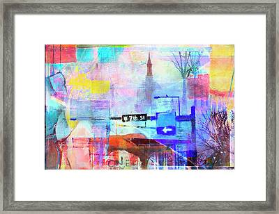Framed Print featuring the photograph Seventh Street by Susan Stone