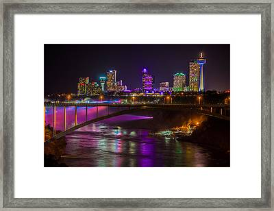 Seventh Wonder Skyline Framed Print