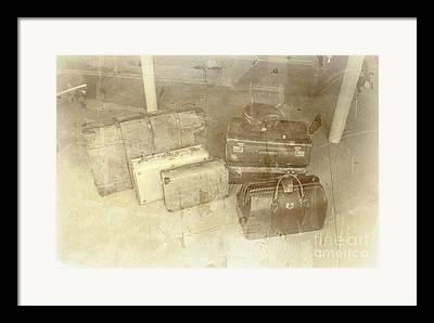 Baggage Framed Prints
