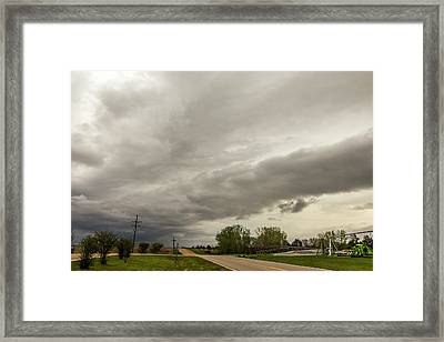 Severe Nebraska Weather 013 Framed Print