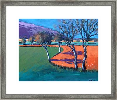 Severn Stoke Framed Print by Paul Powis