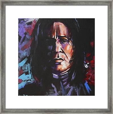 Severus Framed Print by Jean Alexander