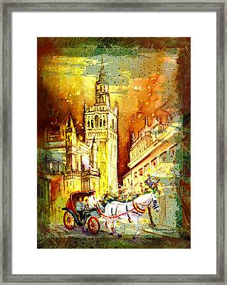 Sevilla Authentic Madness Framed Print by Miki De Goodaboom