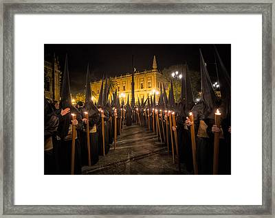 Sevilla Santa Framed Print by Fegari