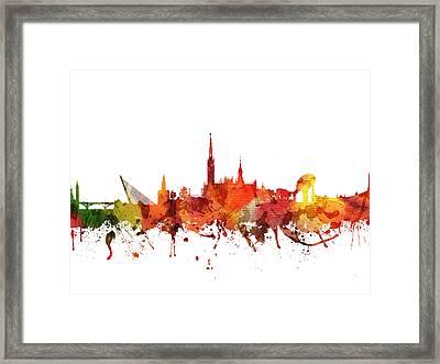 Seville Cityscape 04 Framed Print