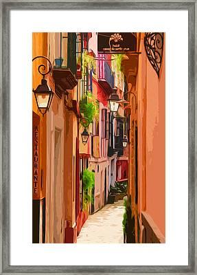 Seville, Colorful Spain Framed Print