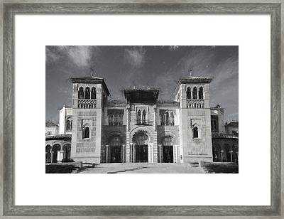 Seville Museum Framed Print by Joan Carroll