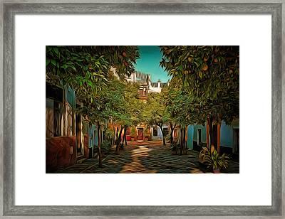 Seville Oranges Framed Print by Anton Kalinichev