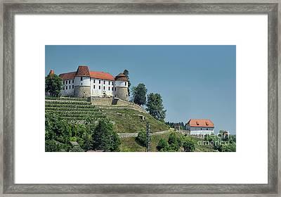 Sevnica Castle Framed Print