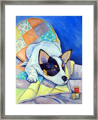 Sew Sweet Framed Print