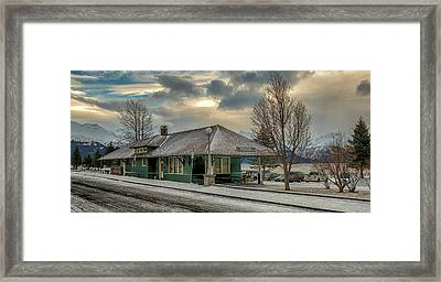 Seward Alaska 2017 Framed Print