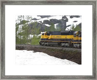 Seward Line Framed Print