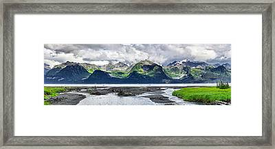 Sewards Allure Framed Print by Ed Boudreau