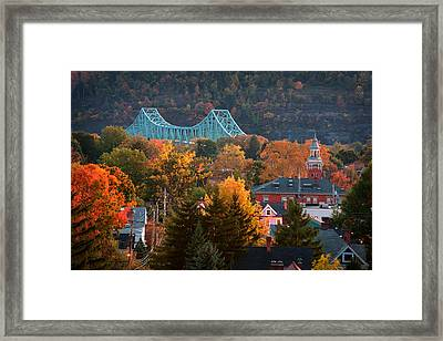 Sewickley 6 Framed Print by Emmanuel Panagiotakis