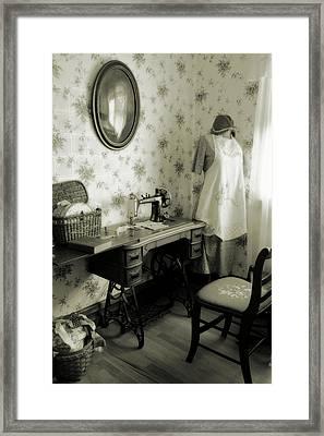 Sewing Room Framed Print