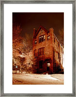 Sewing School Framed Print by Michael Simeone