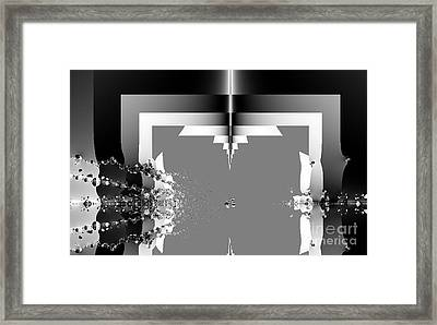 Sewing With Waterdrops Framed Print by Thomas Smith