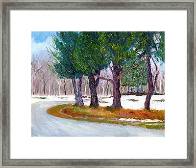 Sewp Early Spring Framed Print by Stan Hamilton