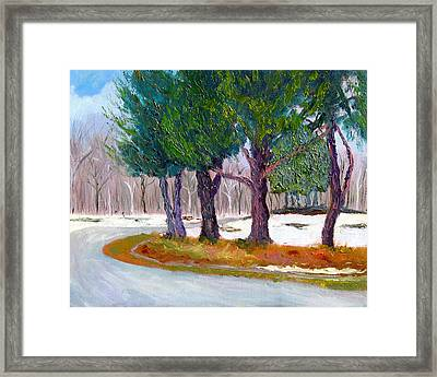 Sewp Spring Thaw Framed Print by Stan Hamilton