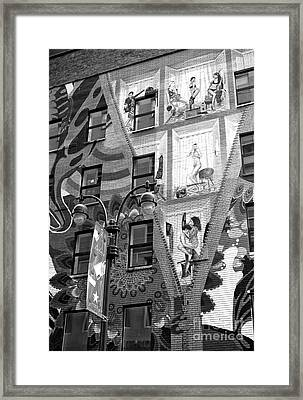 Sex In The City Framed Print