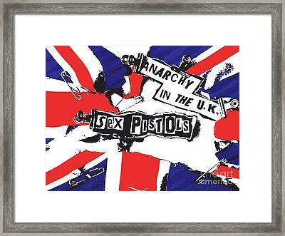 Sex Pistols No.02 Framed Print by Caio Caldas