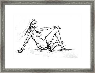 Sexy Girl Framed Print