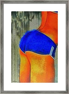 Sexy Girl - Pa Framed Print by Leonardo Digenio