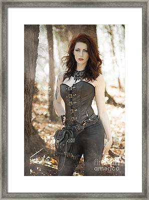Sexy Steam Punk Framed Print by Jt PhotoDesign