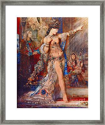 Sexy Witch 1876 Framed Print by Padre Art