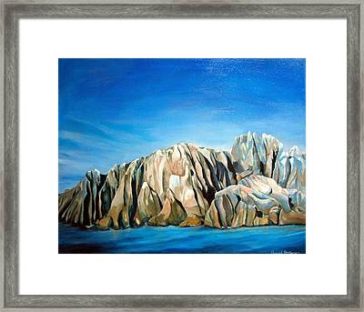 Seychelles Framed Print by Muriel Dolemieux