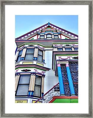 Sf Colors Framed Print