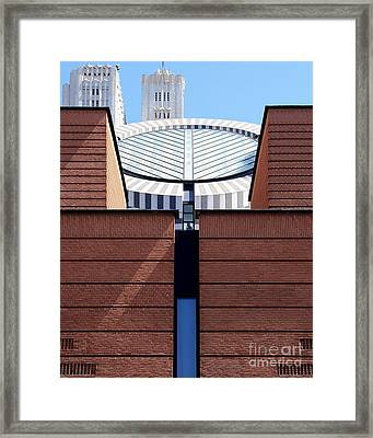 Sf Museum Of Modern Art Sfmoma Framed Print by Wingsdomain Art and Photography