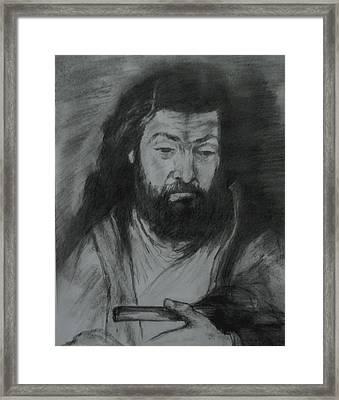 Sfantul Simon Framed Print by Covaliov Victor